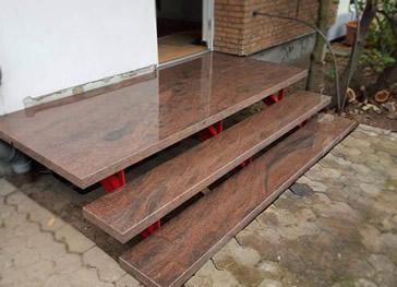 granit treppen individueller zuschnitt von granit. Black Bedroom Furniture Sets. Home Design Ideas
