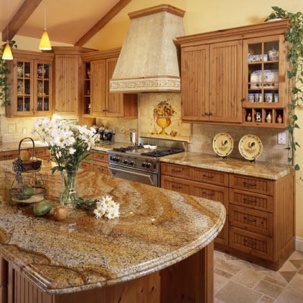 Granit Arbeitsplatten für die Küche - Die Preise für 200 Granitsorten